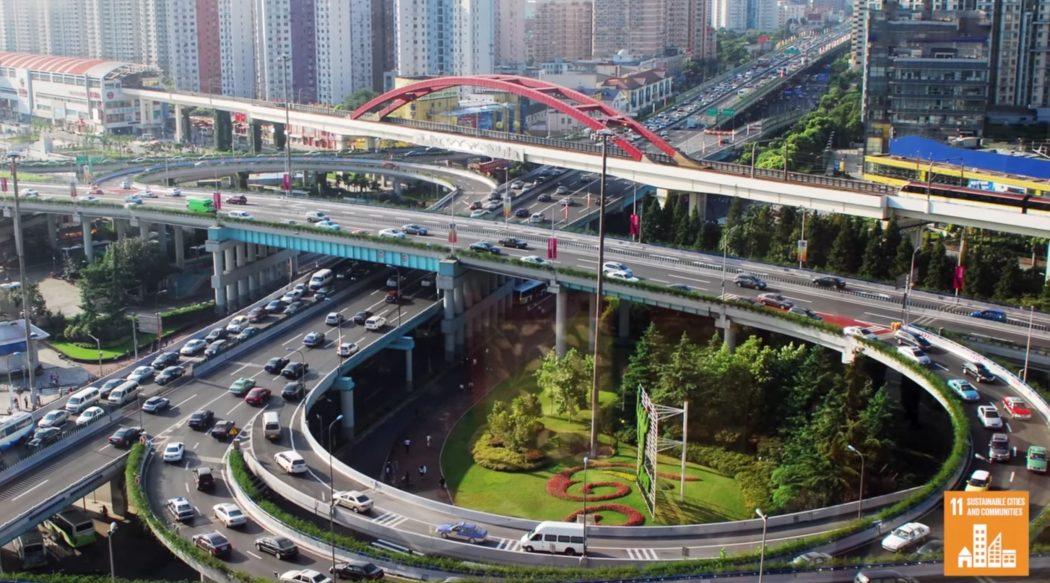 UNFP Sustainable cities and sustainable growth image