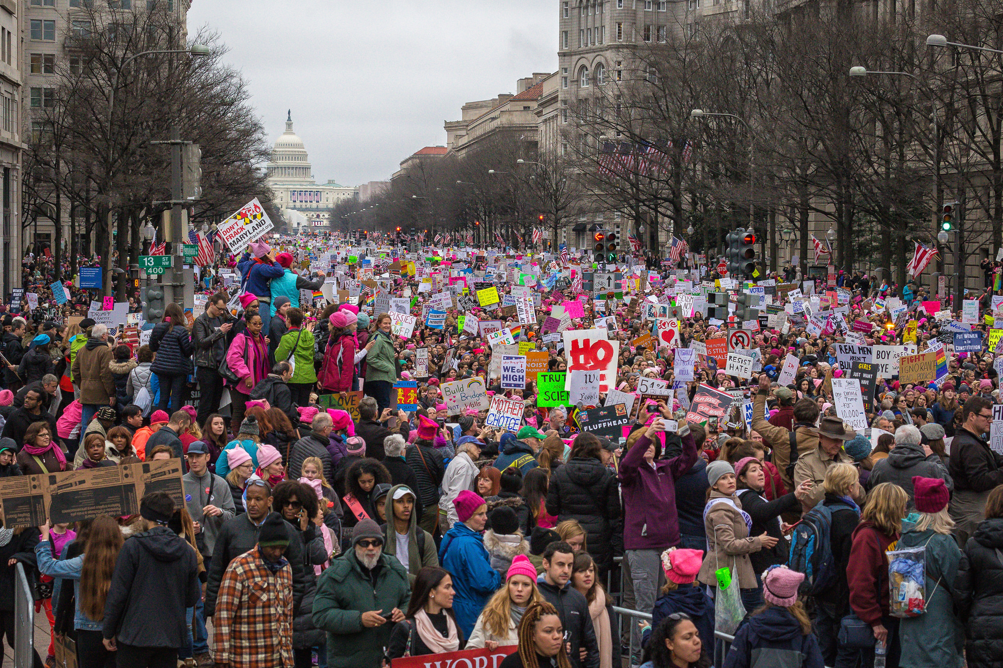 Women's March Photo by Mobilus in Mobili Flickr