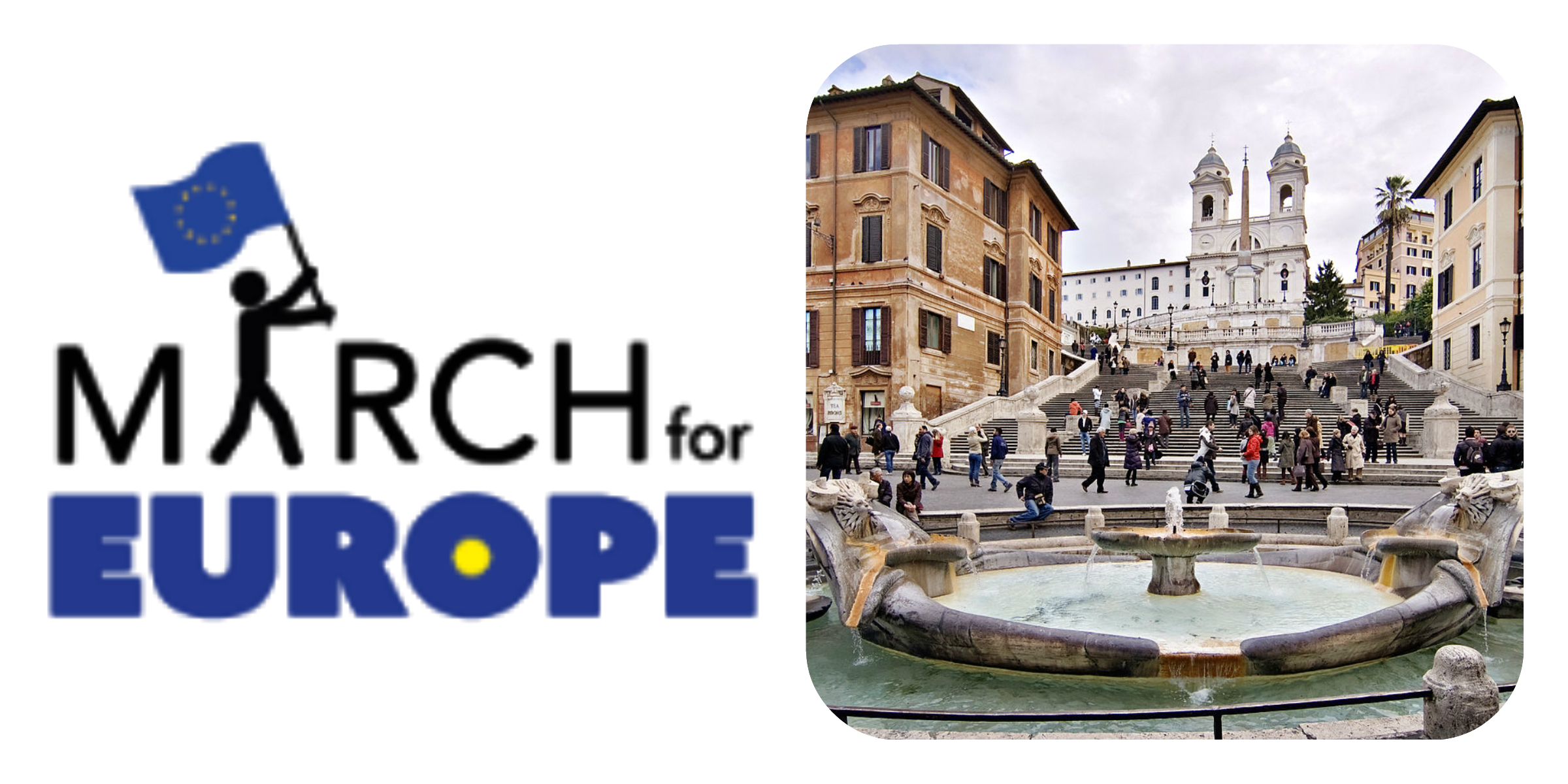 Collage March for Europe