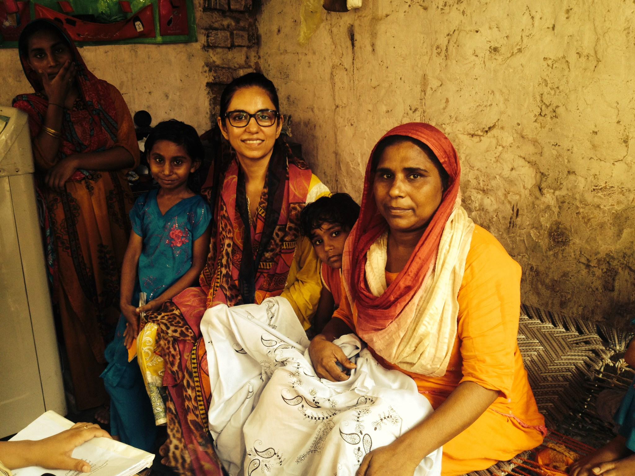 roshaneh-in-field-women-girls-empowerment-kashf