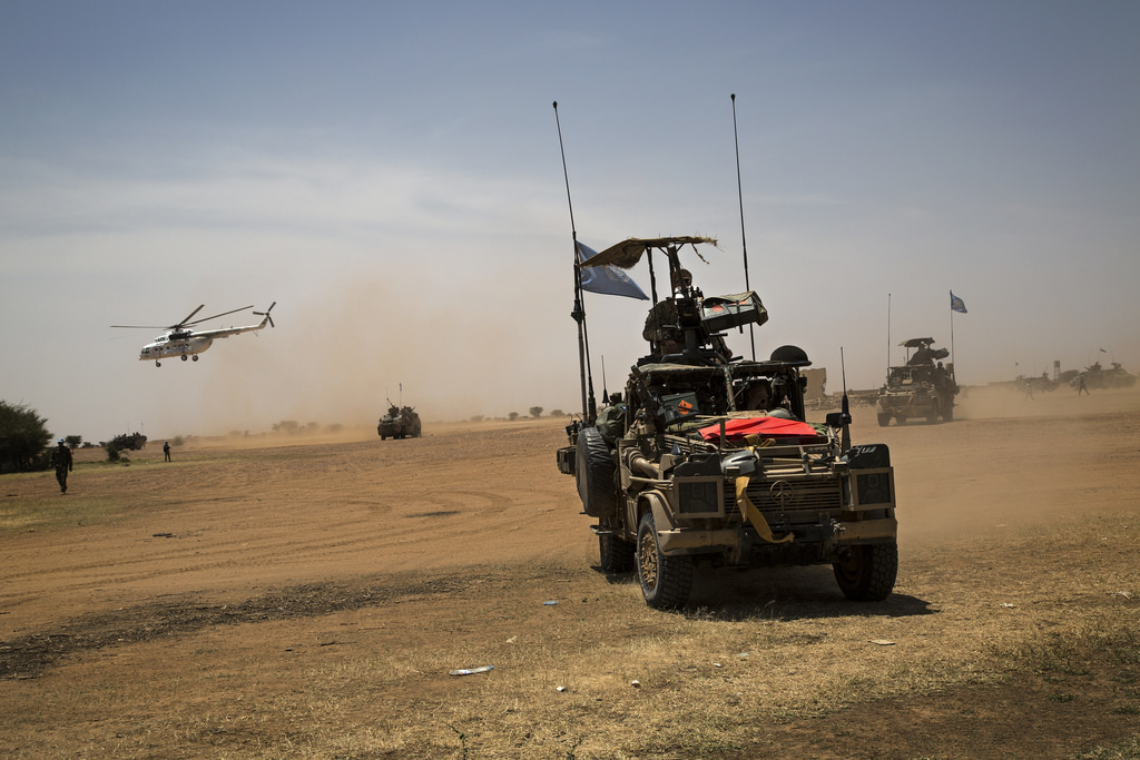 MINUSMA Force Commander Visits Anefis in Northern Mali