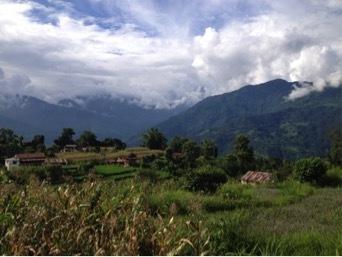 astam, nepal, eco village, katherine baxter