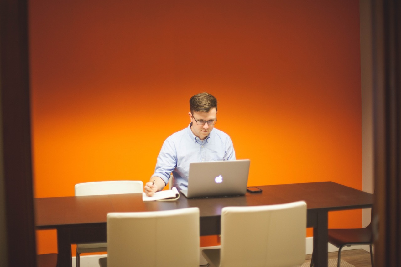 man-people-space-desk-stool-life-work