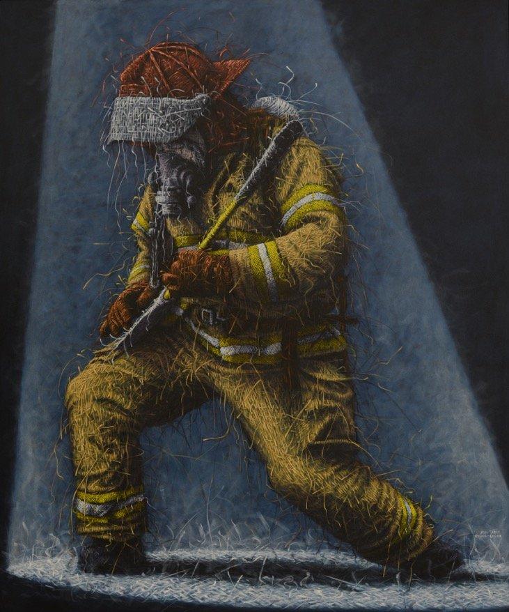_Spiritual Security - Rocking_ 72_ x 60_ Oil_Canvas 2016