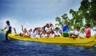 Paddling Their Way To Education