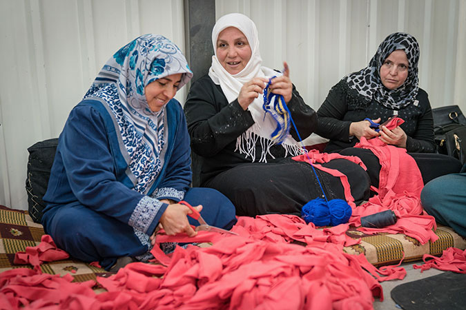 Emm Ali and other refugee women