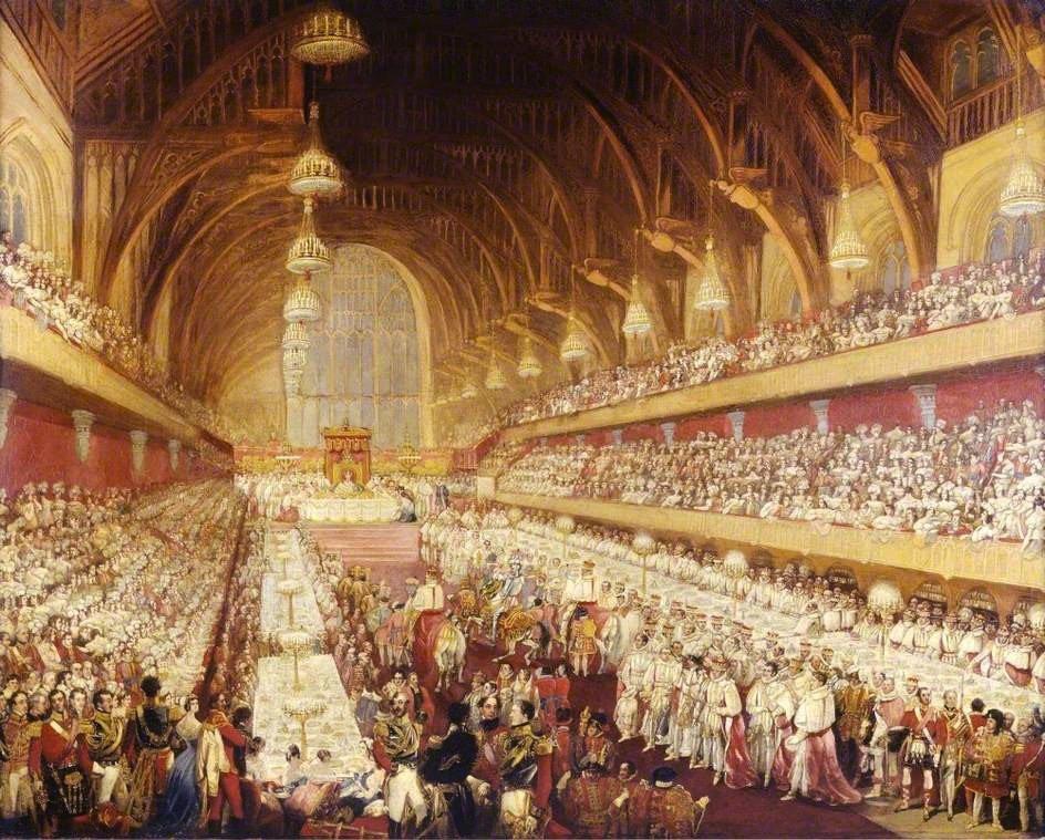 George_IV_coronation_banquet