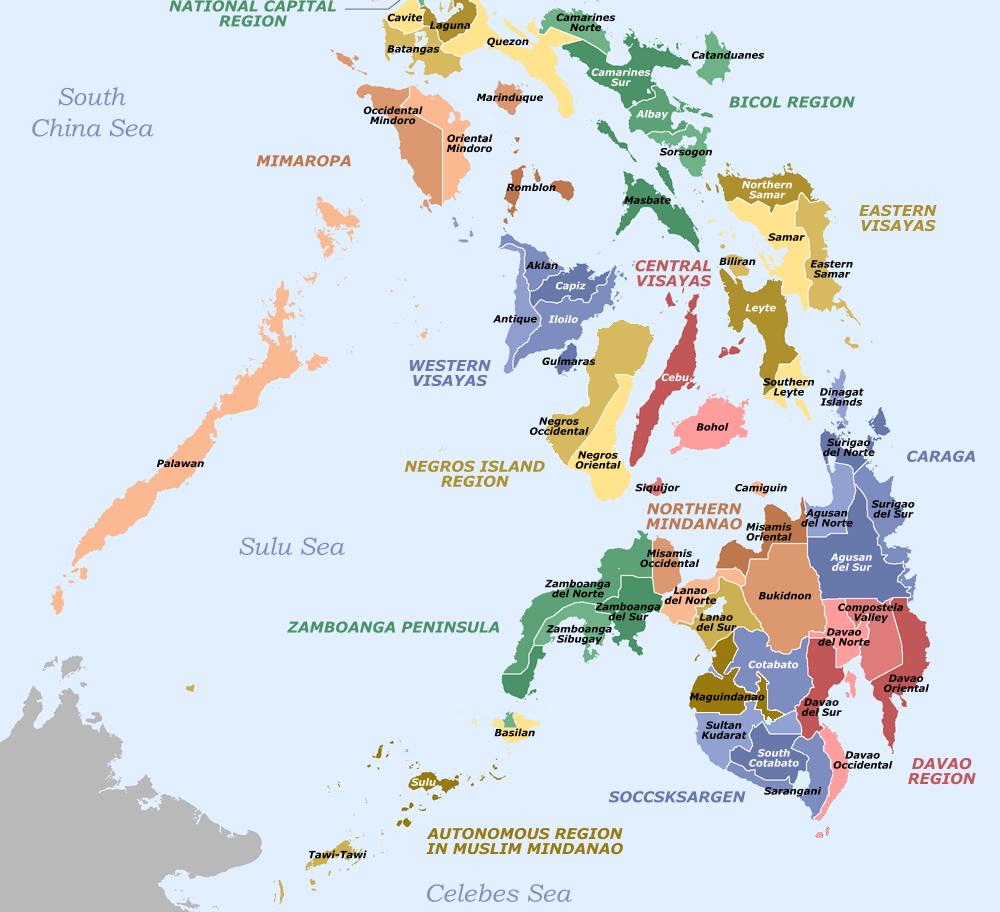 Mindanao Map and Marawi