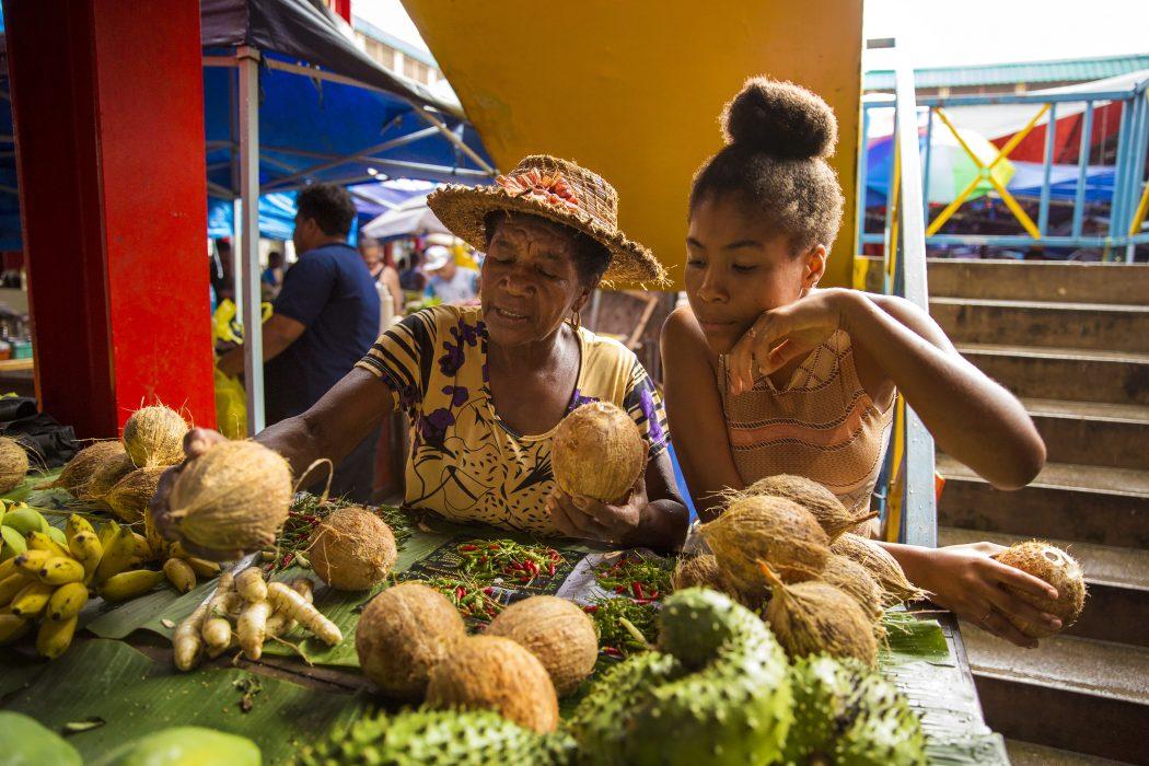Seychelles – Daily Life – Market Vendors