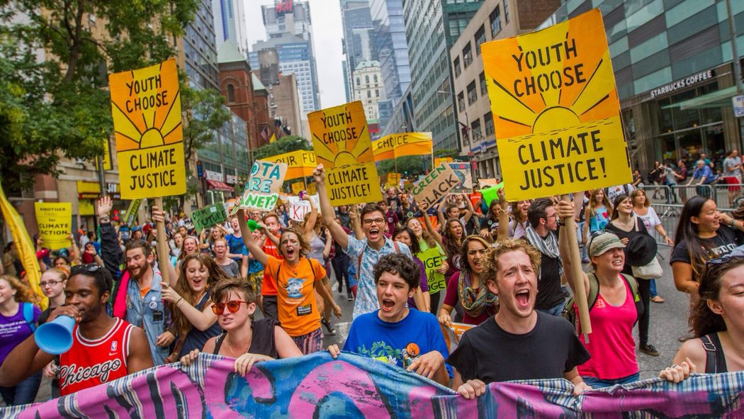 Climate March. Credit – Shadia Fayne Wood