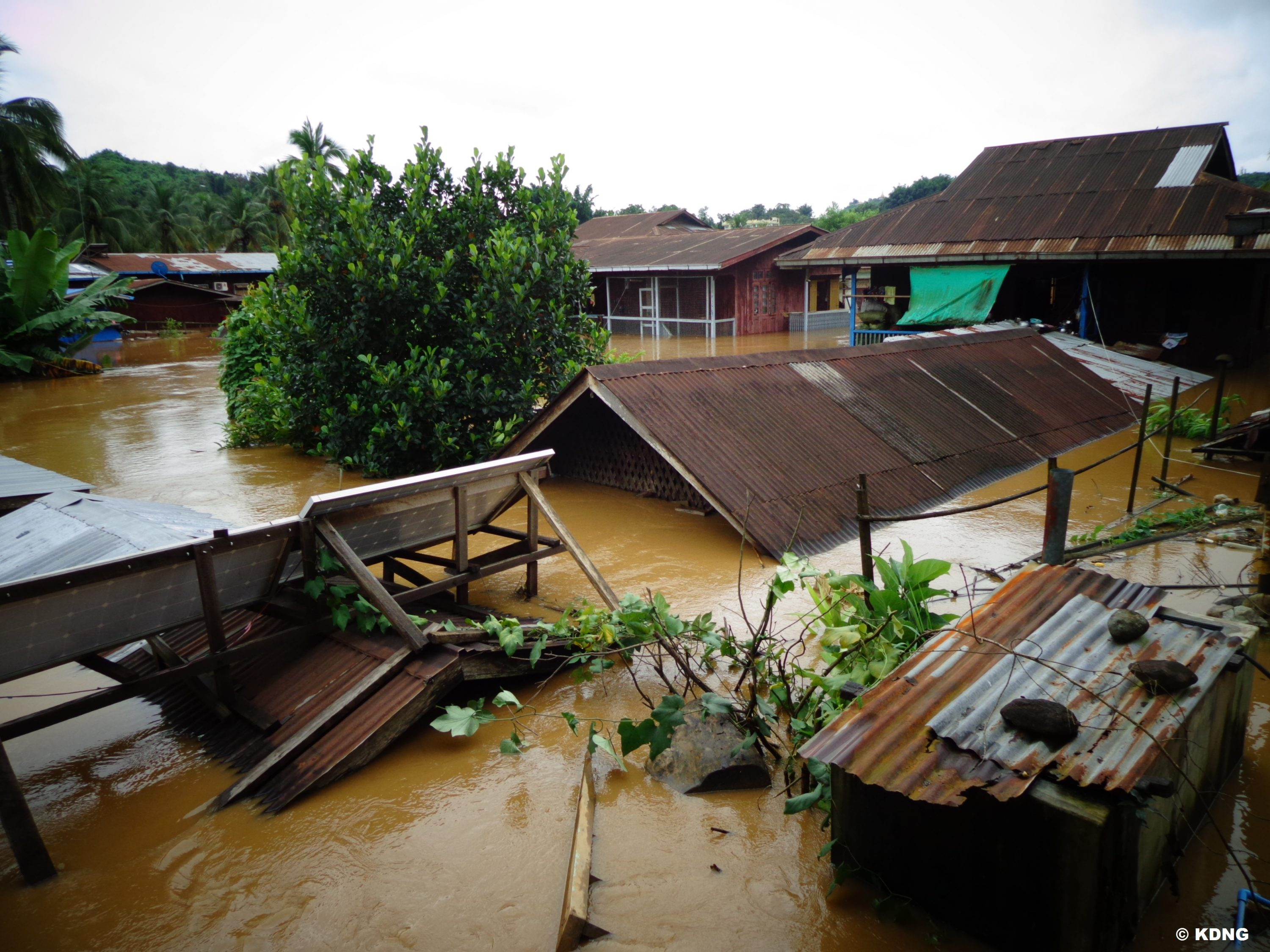 KDNG Hpakant town suffered severe flooding in 2014 (1)