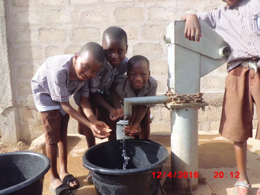 Water Filtration Project in Ghana. Photo Credits- El Ehsan Charitable Relief Foundation, Usman Ibrahim