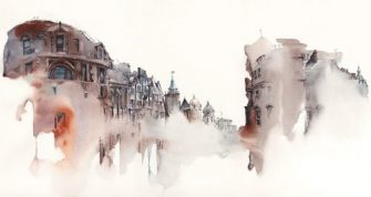 Magical Watercolor Architecture with Sunga Park