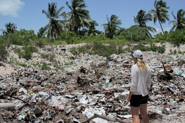 Kiritimati Island dumping site - Kiribati
