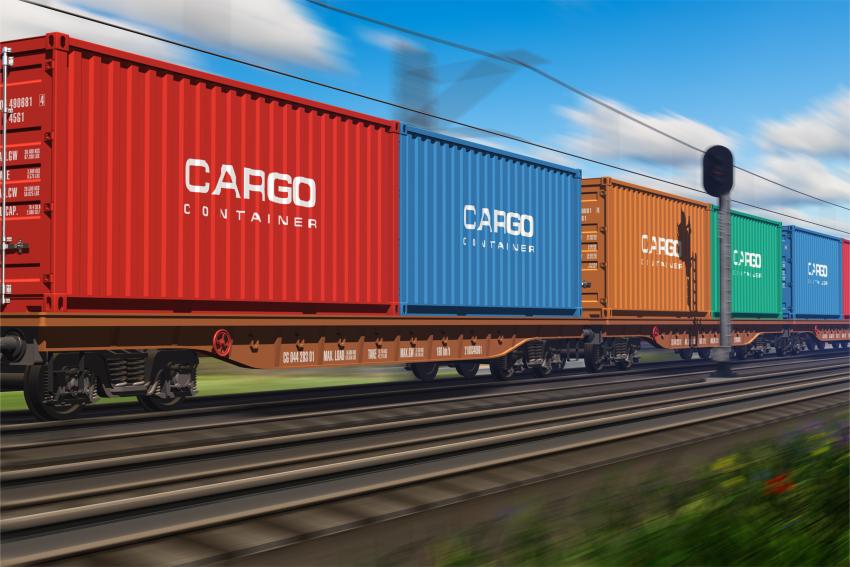 Shutterstock (Cargo Train)