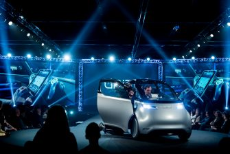Uniti electric car: interview with Lewis Horne.