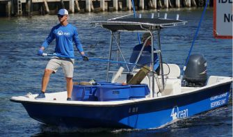 4Ocean: Pulling trash, a pound at a time
