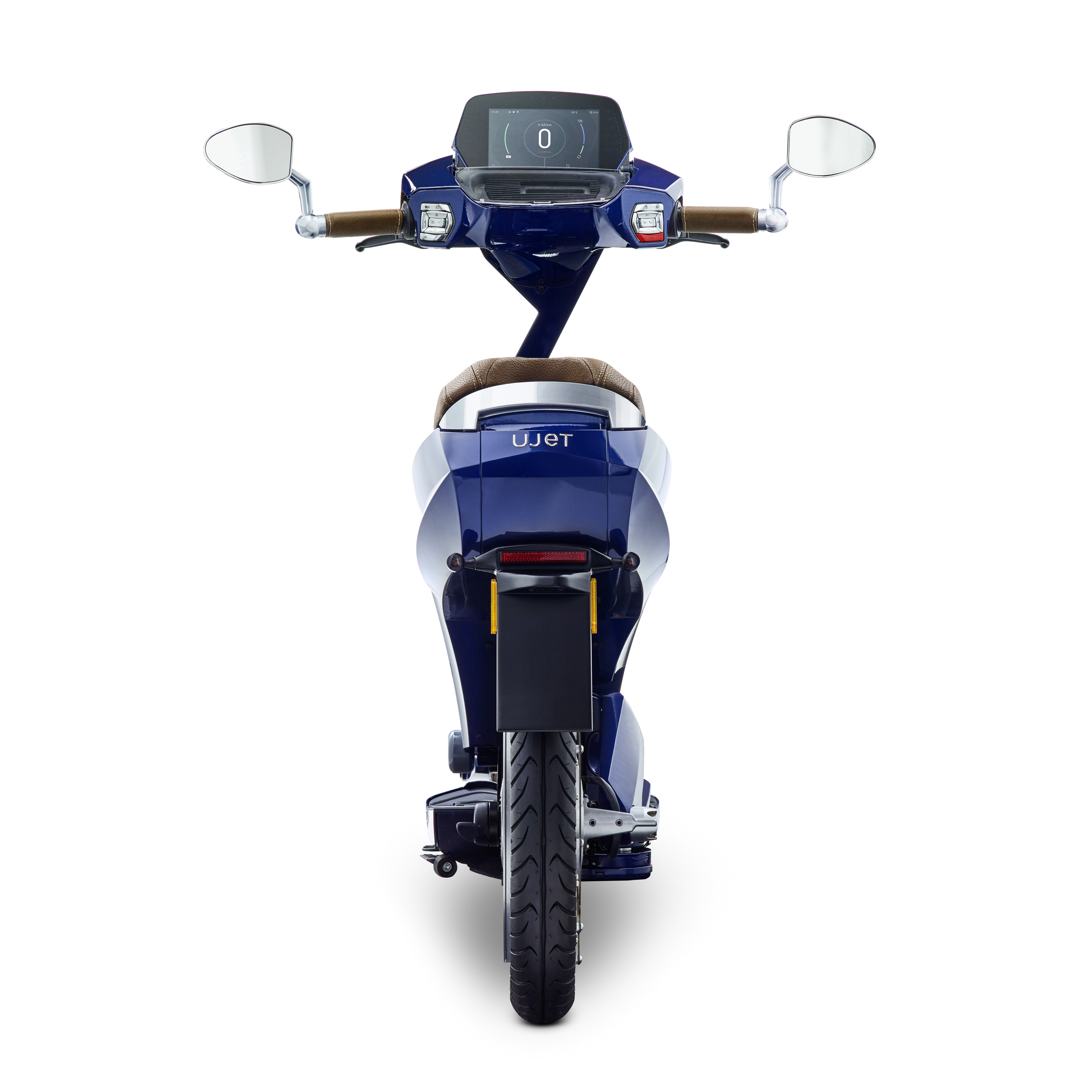 Ujet_Scooters_back picadilly blue