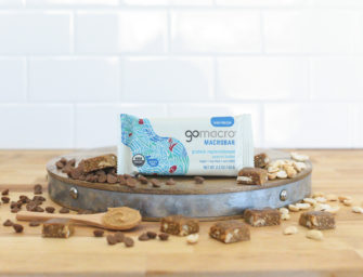 Gomacro: macrobiotic sustainable snacks