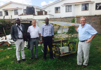 Solar-e-Cycles: Supporting Development in Africa. Interview with Roger Christen