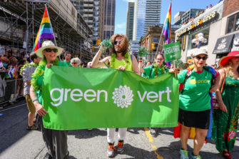 Going green in Canada