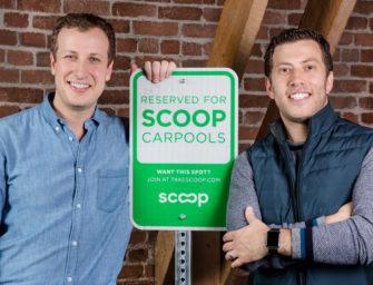 Scoop, Carpooling Made Easier.