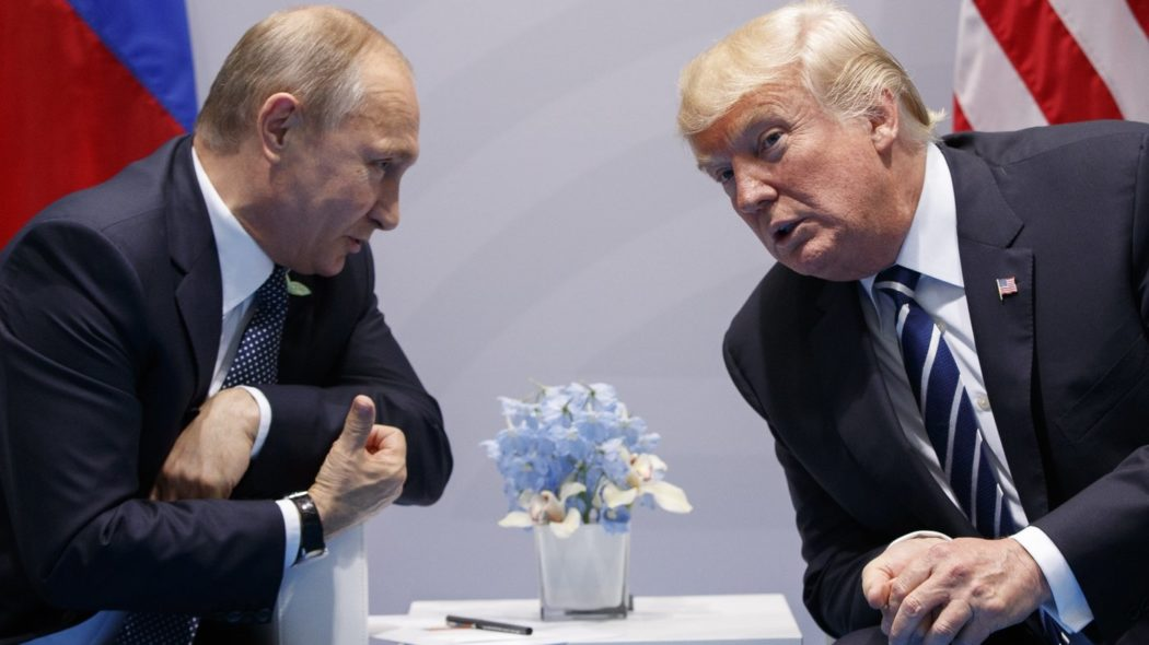 Trump-Putin-Russia July 2017 G20 mtg